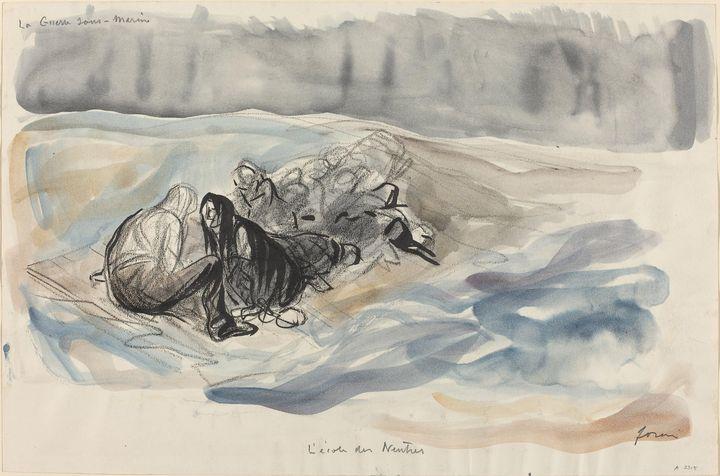 Jean-Louis Forain~La Guerre sous-Mar - Artmaster