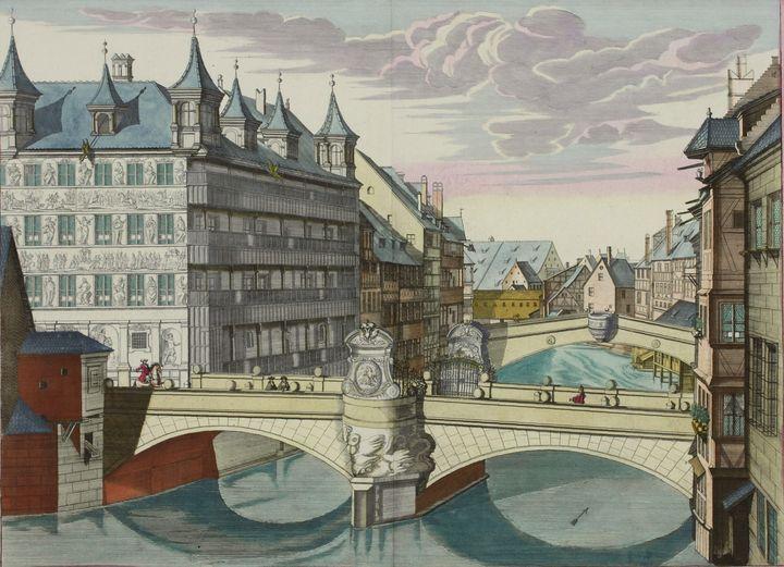 Johann Andreas Graff~Museumsbrücke a - Artmaster