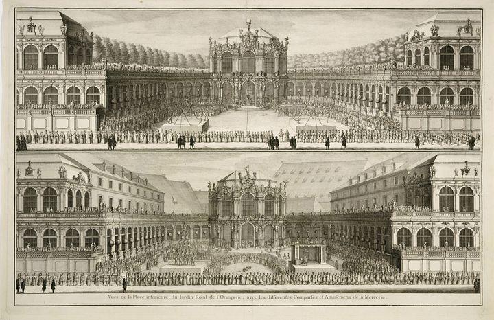 Johann August Corvinus~Vue … du jard - Artmaster