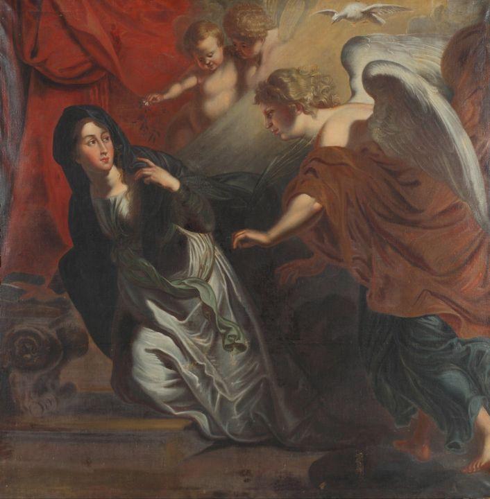Johann Christian Schröder~The Annunc - Artmaster