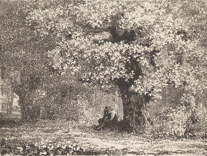 Johann Christoph Erhard~A Man Sittin - Artmaster
