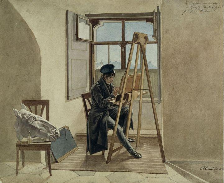 Johann Christoph Erhard~The Painter - Artmaster