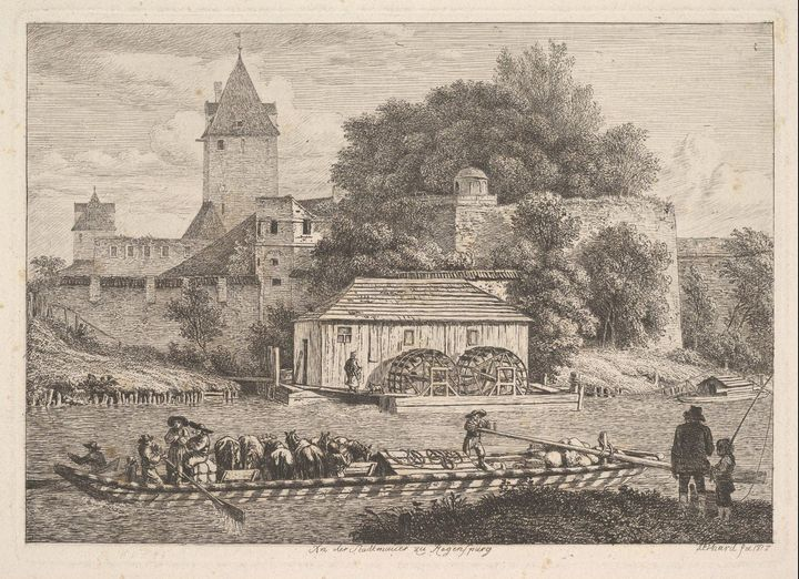 Johann Christoph Erhard~The Town Wal - Artmaster