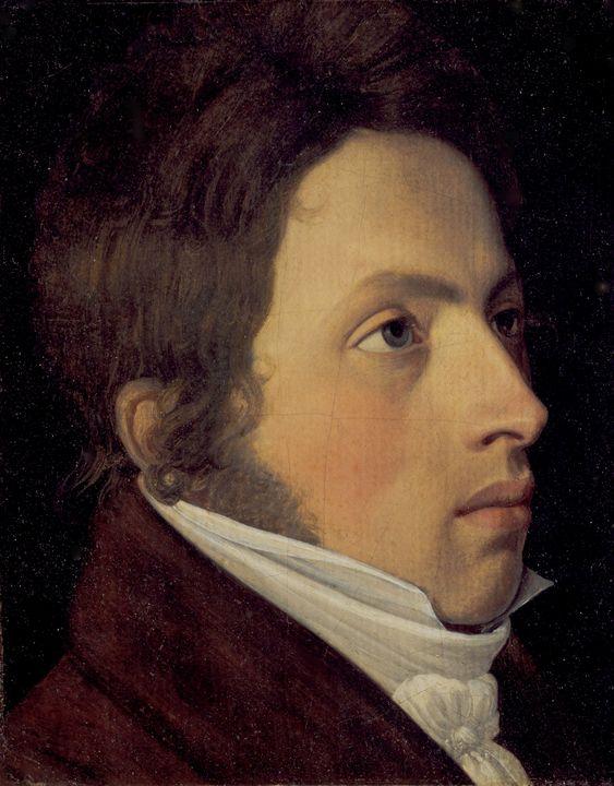 Johann Friedrich Overbeck~Portrait o - Artmaster