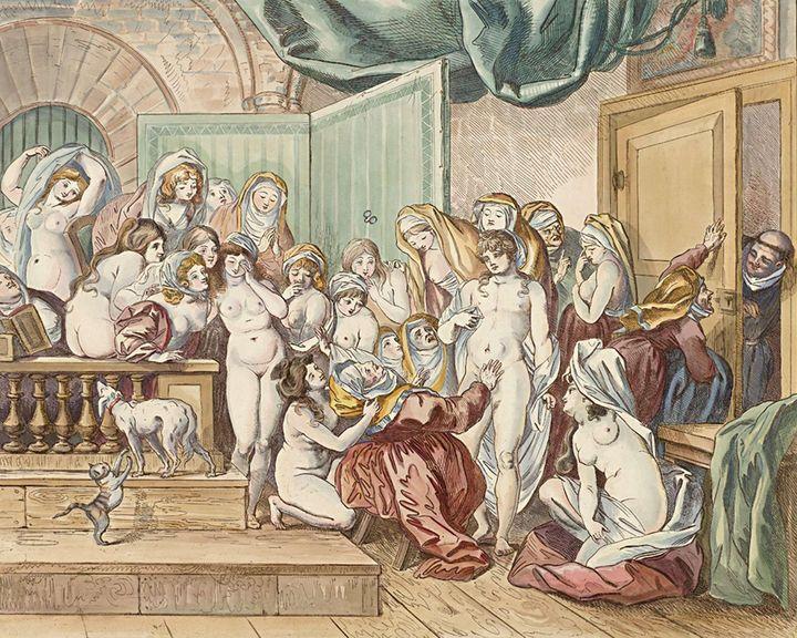 Johann Heinrich Ramberg~De verrassin - Artmaster