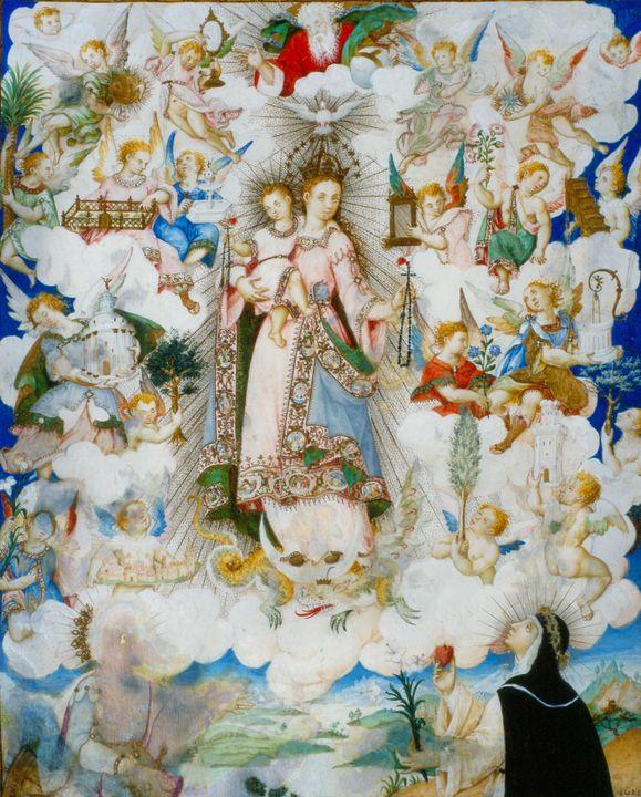 Luis Lagarto~The Virgin of the Rosar - Artmaster