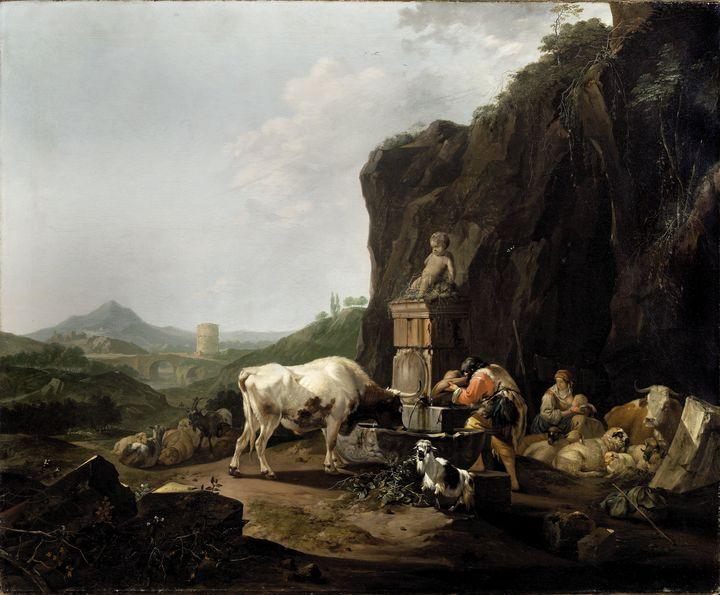 Johann Heinrich Roos~Shepherd and hi - Artmaster