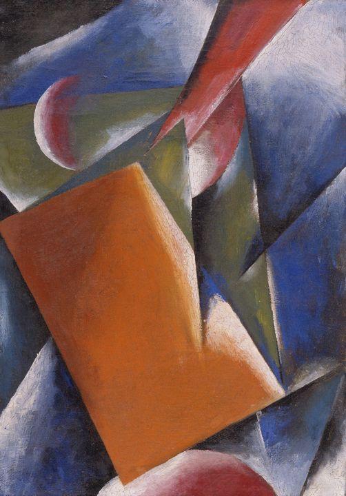Lyubov Popova~Architectonic Painting - Artmaster