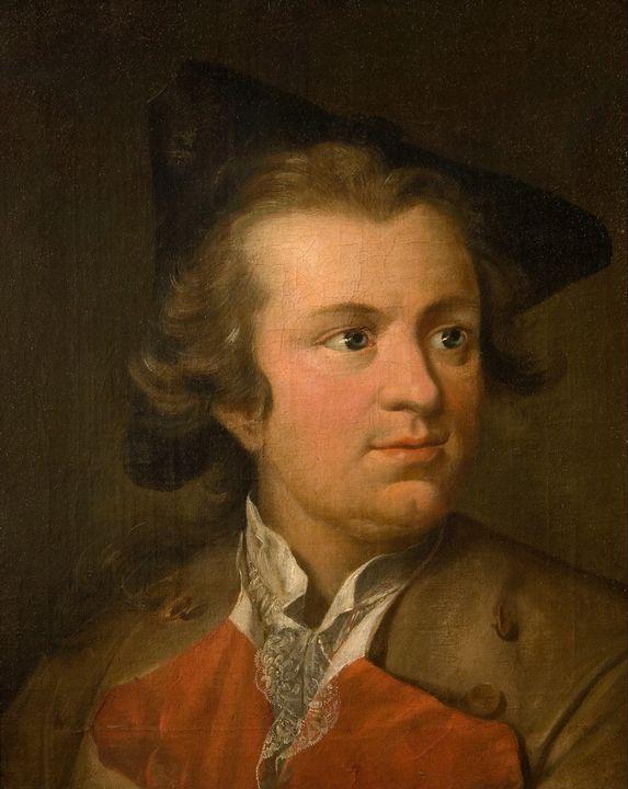Johann Heinrich Tischbein~Self-portr - Artmaster