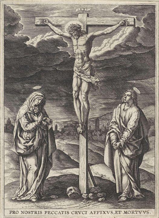 Maerten de Vos~Kruisiging - Artmaster