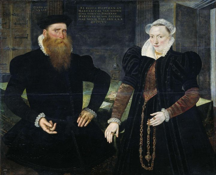 Maerten de Vos~Portrait of Gillis Ho - Artmaster