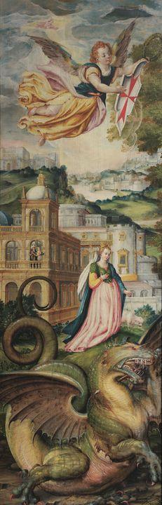 Maerten de Vos~San Jorge y el dragón - Artmaster
