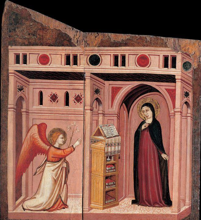 Maestro di Campli~Annunciation - Artmaster