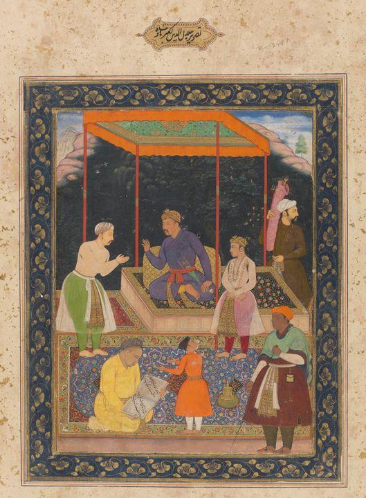 Manohar~The Elderly Akbar Receives M - Artmaster