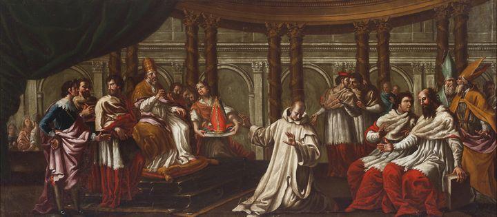Manuel Bayeu~Saint Bruno refuses the - Artmaster