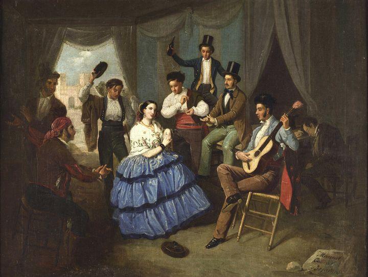 Manuel Cabral~Dancing in a Fair case - Artmaster