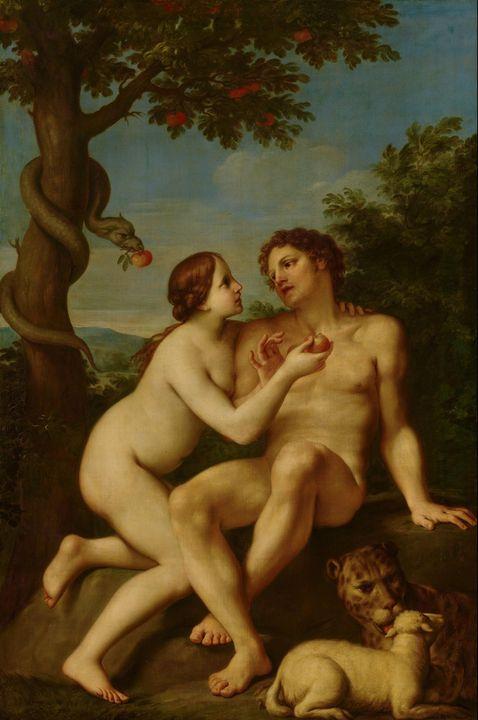 Marcantonio Franceschini~Adam and Ev - Artmaster