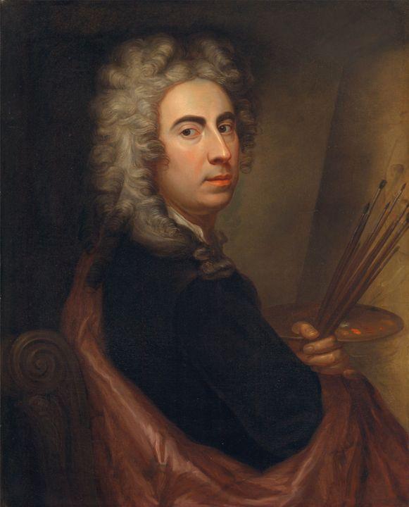 Marcellus Laroon~Self-Portrait - Artmaster