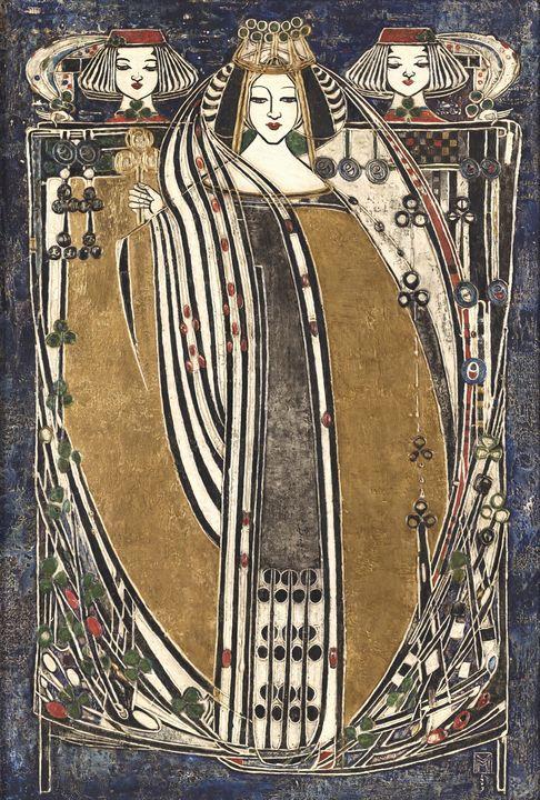 Margaret Macdonald Mackintosh~Queen - Artmaster