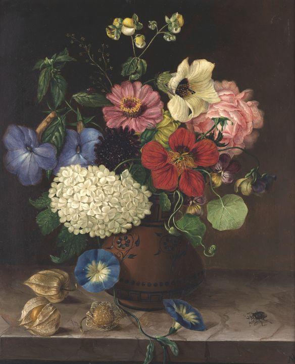Maria Auersperg Attems~Flowers - Artmaster