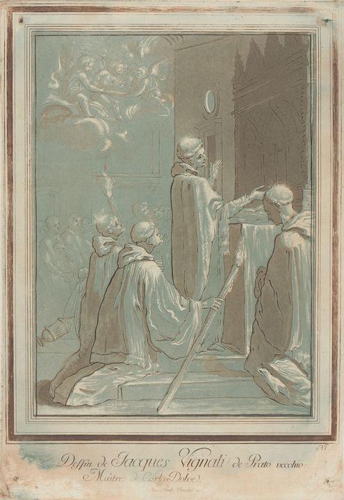 Maria Katharina Prestel~A Saint Read - Artmaster