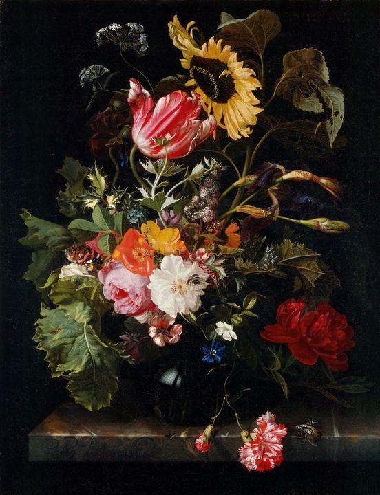 Maria van Oosterwijck~Bouquet of Flo - Artmaster