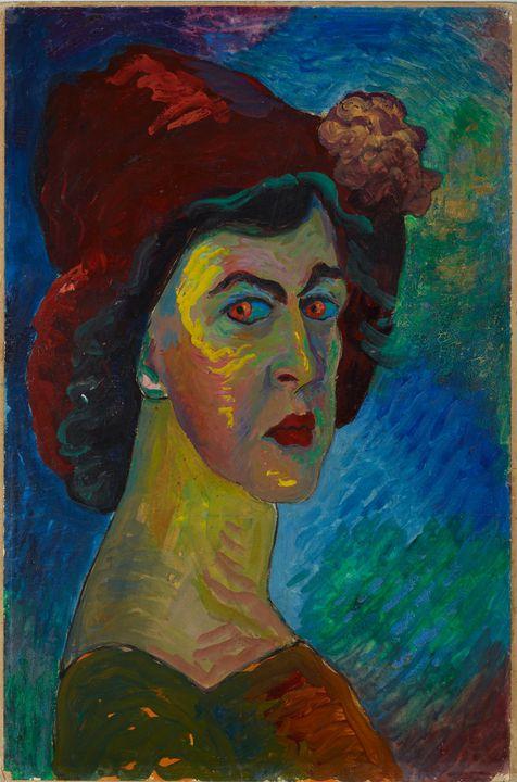 Marianne von Werefkin~Selfportrait I - Artmaster
