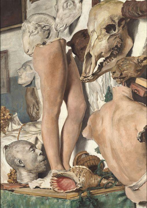 Mariano Fortuny~Still Life. The plas - Artmaster