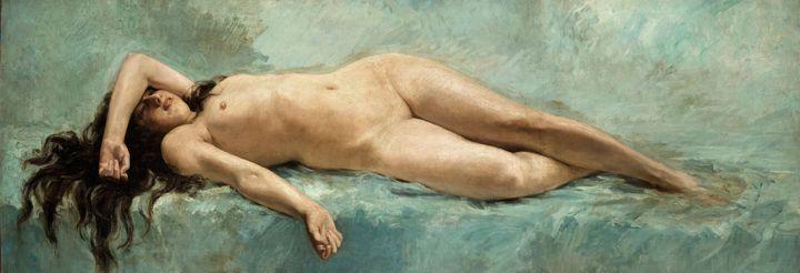 Mariano Fortuny~Study of Female Nude - Artmaster