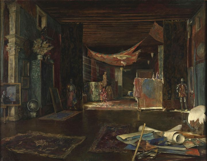 Mariano Fortuny~The atelier of the a - Artmaster