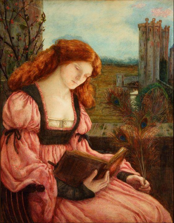 Marie Spartali Stillman~Saint Barbar - Artmaster