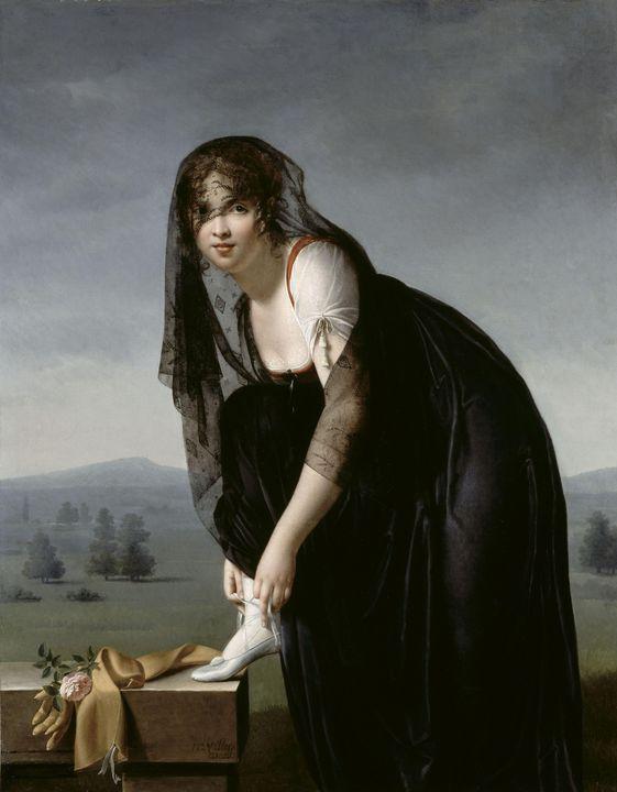 Marie-Denise Villers~Etude de femme - Artmaster