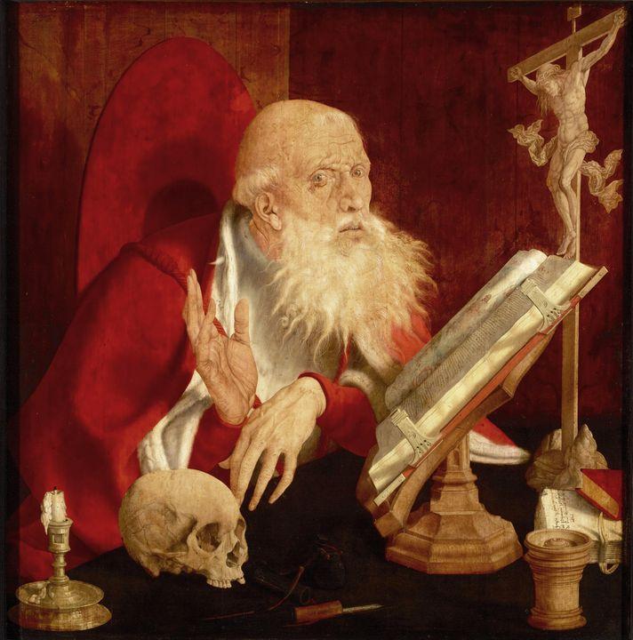 Marinus van Reymerswaele~Saint Jerom - Artmaster