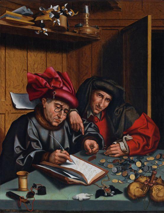 Marinus van Reymerswaele~The Money C - Artmaster