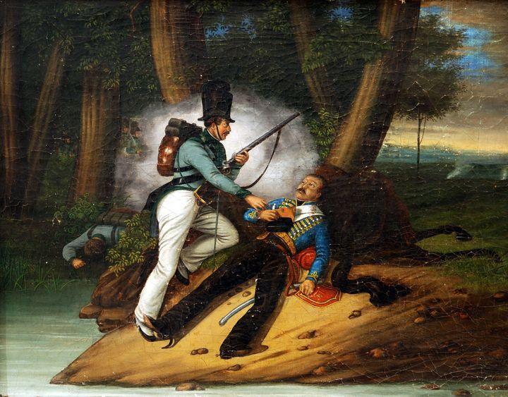 Johann Peter Krafft~Vojnova scena Wa - Artmaster