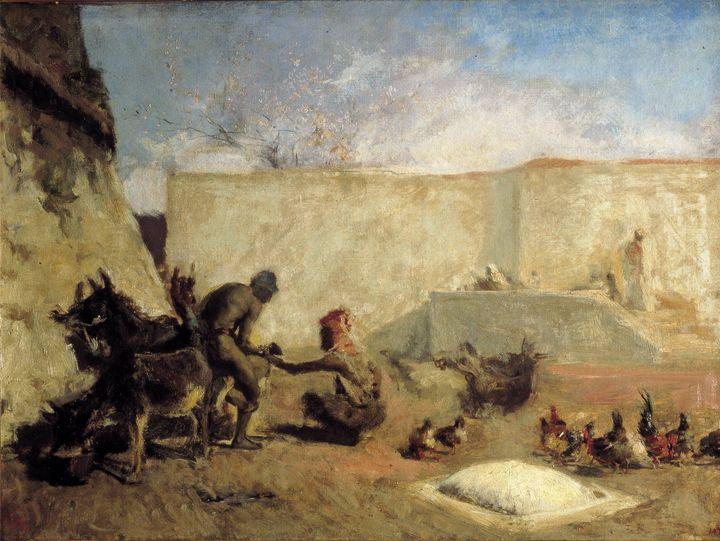 Marià Fortuny~Moroccan Horseshoer - Artmaster