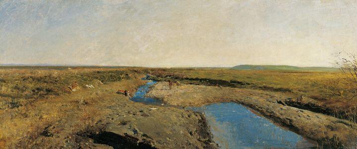 Marià Fortuny~North African Landscap - Artmaster