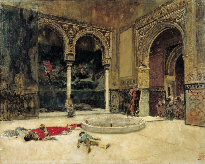 Marià Fortuny~The Slaying of the Abe - Artmaster