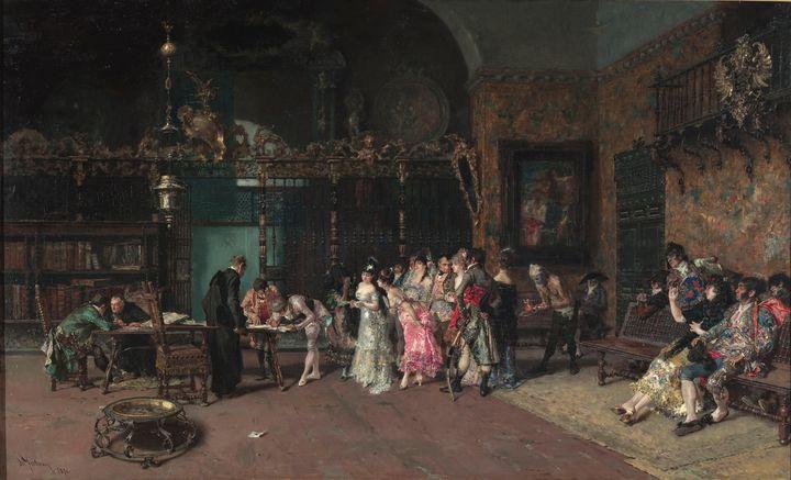 Marià Fortuny~The Spanish Wedding - Artmaster