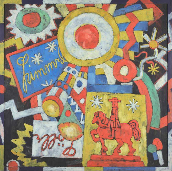 Marsden Hartley~Himmel - Artmaster