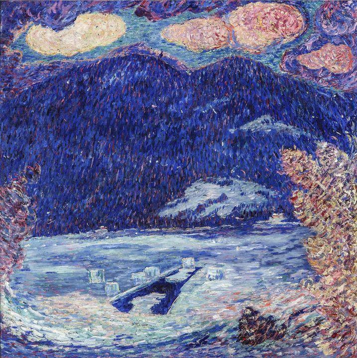 Marsden Hartley~The Ice Hole, Maine - Artmaster