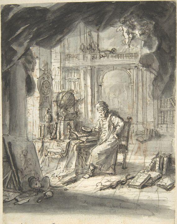 Martin Johann Schmidt~An Oriental As - Artmaster