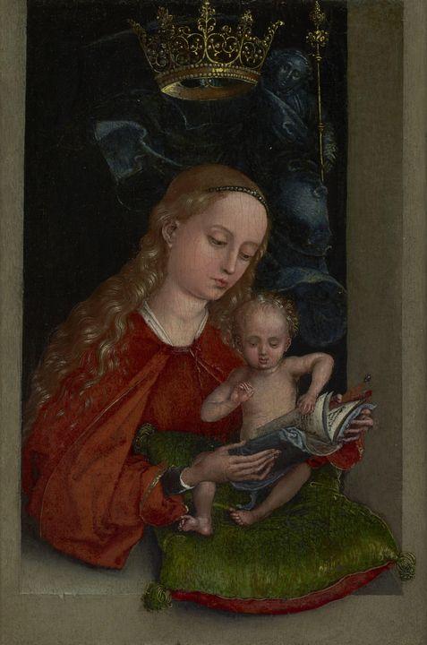 Martin Schongauer~Madonna and Child - Artmaster