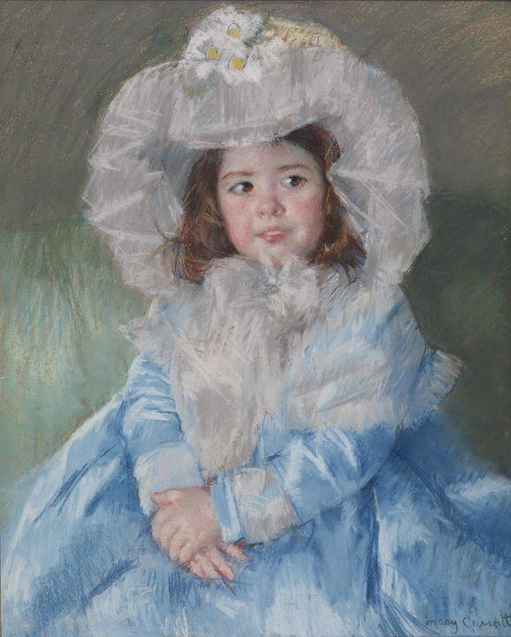 Mary Cassatt ~ Margot (Lefebvre) in - Artmaster