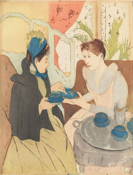 Mary Cassatt~Afternoon Tea Party9178 - Artmaster