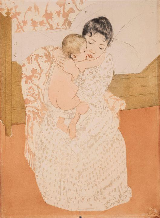 Mary Cassatt~Maternal Caress - Artmaster