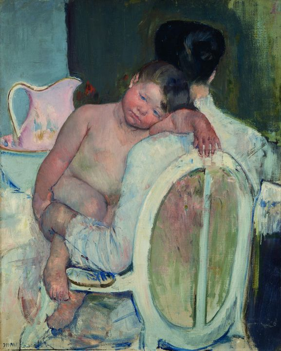 Mary Cassatt~Seated woman with a chi - Artmaster