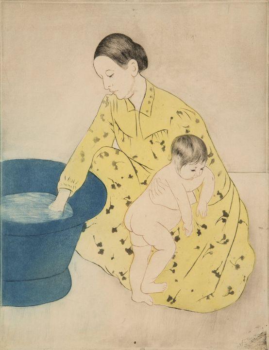 Mary Cassatt~The Bath - Artmaster