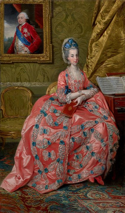 Johann Zoffany~Portrait of the Archd - Artmaster