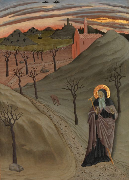 Master of the Osservanza Triptych~Sa - Artmaster